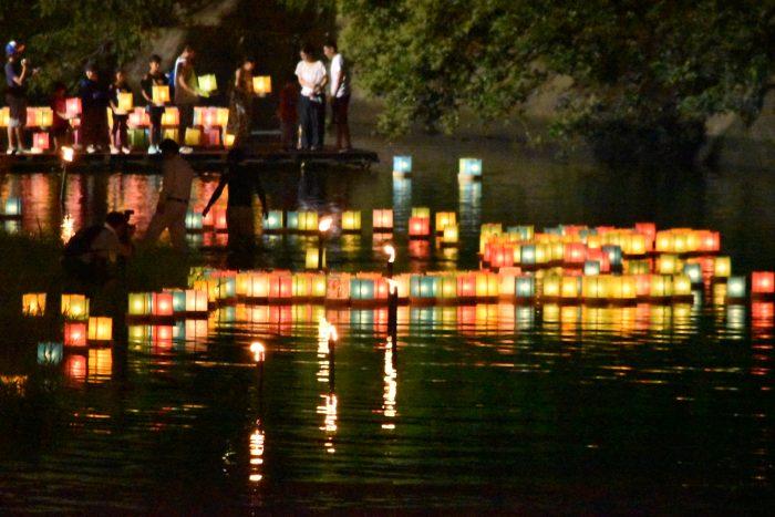 松川灯篭流し(8)